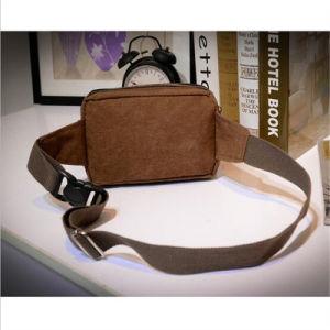 Men′s Waist Bag Fashion Casual Bag Men′s Pocket Canvas Chest Bag (GB#517) pictures & photos
