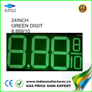 """Ce 24"""" Outdoor Green Digital LED Sign (NL-TT61SF-3R-4D-GREEN) pictures & photos"""