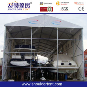 Outdoor Storage Warehouse Tent for Sale with Special PVC Door pictures & photos