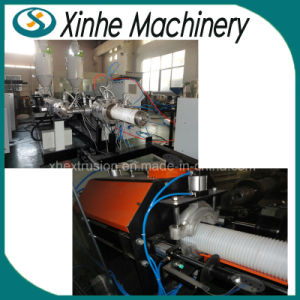 PE/PVC Double Wall Corrugated Pipe Production Line/225-500mm Pipe Plastic Extruder pictures & photos