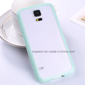Full Covered Double Color Soft Mobile Phone Case for Samsung S5