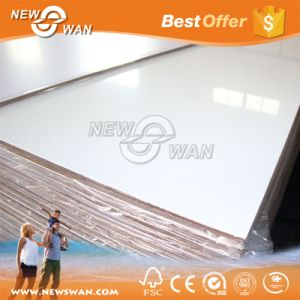 9mm Acrylic Coated MDF Board / Plastic Coated MDF pictures & photos