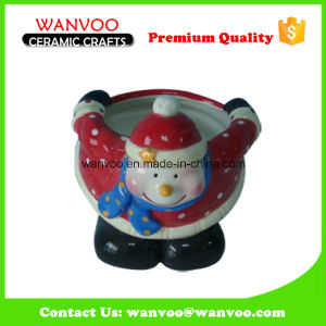 Glazed Ceramic Crafts Christmas Bowl for Home Decorations pictures & photos