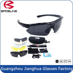 2017 Miltifunctional Mens Sunglasses Cycling Sport Outdoor Sun Glasses pictures & photos