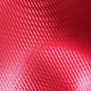 Carbon Microfiber Leather for Car Steers Hx-C1710 pictures & photos