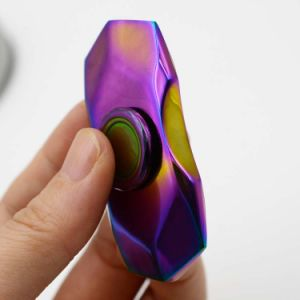 Rainbow Shiny Diamond Fidget Spinners Adult Toys Hand Spinners pictures & photos