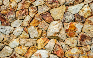The Stones Pattern Design Printed on Wall Panel for Home Decoration pictures & photos
