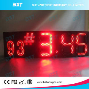 High Brightness Red Colour Gas Price LED Sign pictures & photos