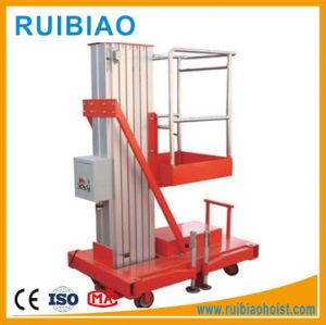 10m Single Mast Aluminum Lift Table Ce pictures & photos