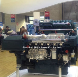 450HP 2100rpm Yuchai Marine Diesel Engine Fishing Boat Engine pictures & photos