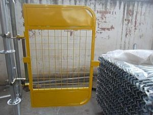 Powder Coating Swing Gates Exported to Australia Market pictures & photos