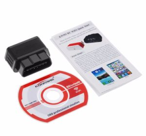 OBD Brand Konnwei Kw903 Bt OBD2 Bluetooth Scanner Auto Fault Detector Diagnostic Tool pictures & photos