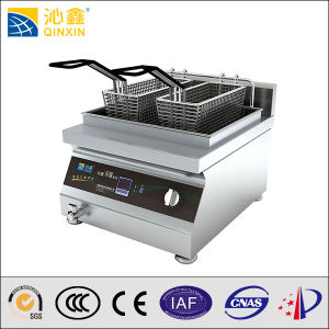 Energy Saving Tabletop Induction Deep Fryer with Ce Approved pictures & photos