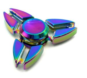 Hand Fidget Spinner Focus Toy Relieves Adhd Anxiety Autism and Boredom Ultra Durable High Speed Bearing Spins pictures & photos