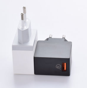 EU Certified QC3.0 Quick Charger USB Phone Charger Adapter for Samsung pictures & photos
