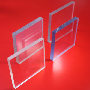 UV Coated Clear Solid Polycarbonate Sheet pictures & photos