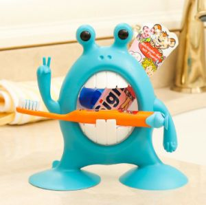 New Cute Frog Design Toothbrush Makeup Organizer Holder pictures & photos