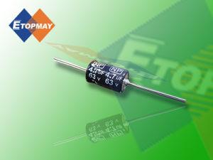 50V 105c Axial Bi-Polar Aluminum Electrolytic Capacitor Tmce16 pictures & photos