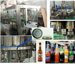 Automatic Glass Bottle Liquid Wine Bottling Filing Line pictures & photos