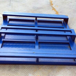Heavy Duty Powder Painted Metal Pallet pictures & photos