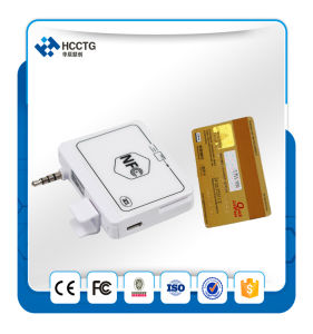 3.5mm Audio Jack Encrypted Mobile POS Magnetic Reader/ NFC Reader Supports Android/Ios for Payment--ACR35 pictures & photos
