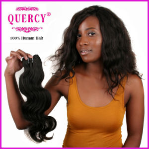 Quercy Hair Best Selling Chinese Virgin Hair Body Wave Natural Color Natural Human Hair (BW-025) pictures & photos