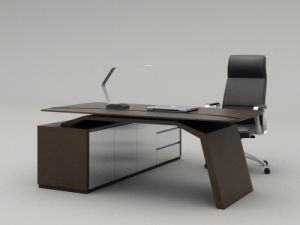 Modern MFC Laminated MDF Wooden Office Table (NS-NW214) pictures & photos
