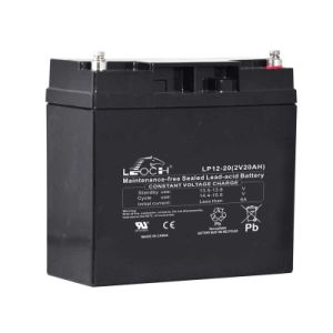 12V 20ah Long Life Rechargeable Solar Battery with Ce Aprroved pictures & photos