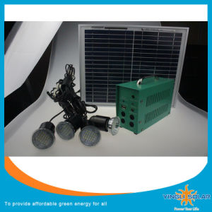 60 W Home Solar Electricity Generation System with 5PCS Super Bright 5W LED Lamp and with 5m Cable pictures & photos