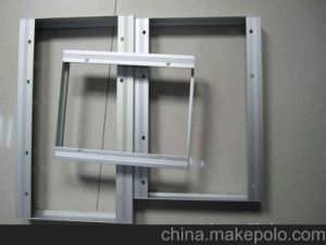 Aluminium Solar Panel Extrusion Framework pictures & photos