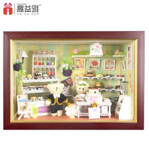 Educational Doll House with Light Kids Adult Toys Gift pictures & photos