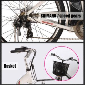 Ce En15194 250W 36V10ah City Electric Bicycle Model (LWEB- L2606) pictures & photos