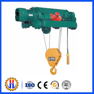 Portable Wire Rope Electric Hoist Winch with Remote Controller pictures & photos