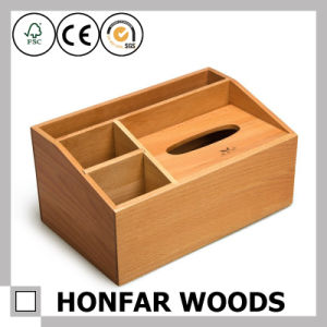 Solid Beech Wood Home Storage Box Varnish pictures & photos