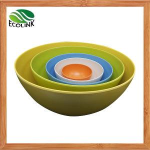 Bamboo Fiber Nesting Mixing Bowls Set pictures & photos