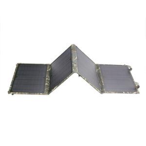High Efficiency 40W USB5V DC12V 18V Solar Emergency Charger pictures & photos