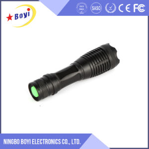 USB Rechargeable 1000m Long Range Green LED Flashlight pictures & photos
