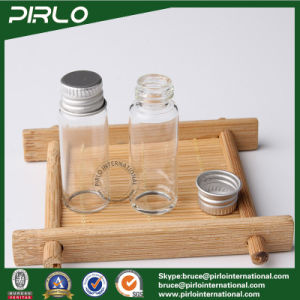 5ml Clear Empty Glass Bottle Aluminum Screw Cap Pharmaceutical Glass Sample Vial pictures & photos