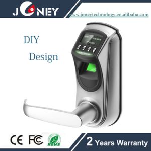 Best Sell DIY Design Digital Fingerprint Lock Optional Single and Double Bolt pictures & photos