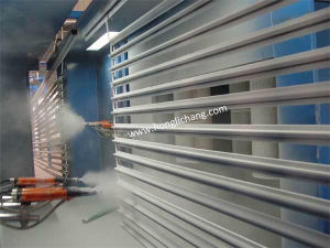 Automatic Powder Spray Coating/Painting Line for Aluminum Profiles pictures & photos