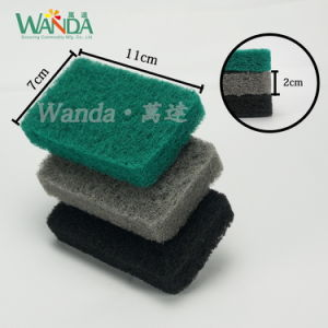 Kitchen Bathroom Rounded Corners Easy Cleaning Scrub Brush Pad pictures & photos