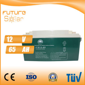 Futuresolar Lead Acid Battery 12V 65ah Solar Panel Rechargeable Battery pictures & photos