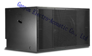 "S8028, Double 18""-2000W Subwoofer, Professional Loudspeaker pictures & photos"