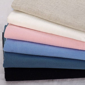 High Quality 15% Linen+ 85% Rayon Fabric Rayon Linen