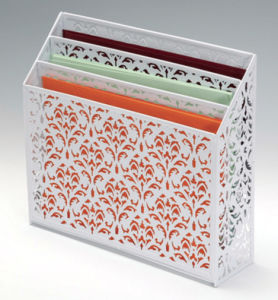 Decorative Office Organizers/ Metal Mesh Stationery Magazine Holder/ Office Desk Accessories pictures & photos