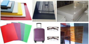 PP PE PS Pet PC ABS Plastic Sheet Extrusion Machine pictures & photos