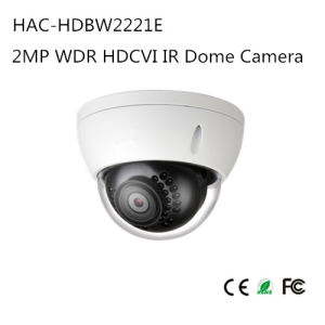 2MP WDR Hdcvi IR Dome Camera (HAC-HDBW2221E) pictures & photos