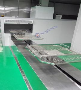 Robotic UV Hard Coating Line for Car Lamps pictures & photos