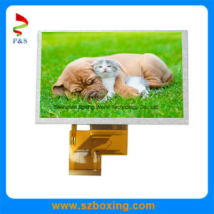 5.0-Inch 800 (RGB) X 480p TFT LCD Display with 250CD/M2 Brightness and RGB Interface pictures & photos
