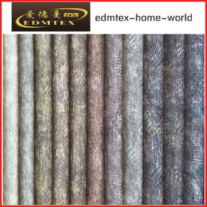 100% Polyester Wholesale Burnout Velvet Upholstery Fabric (EDM-TC90) pictures & photos